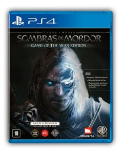Terra-média Sombras de Mordor - Edição Jogo do Ano PS4 Mídia Digital