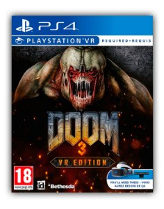 Doom 3 Edição VR PS4 Mídia Digital