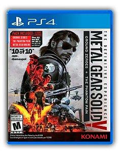 Metal Gear Solid 5 V The Definitive Experience PS4 Mídia Digital