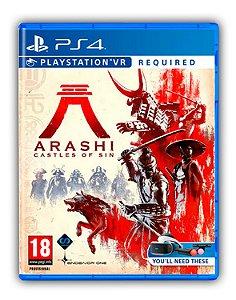 Arashi: Castles of Sin PS4 Mídia Digital