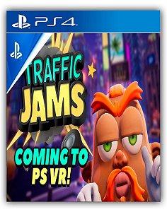 Traffic Jams VR PS4 Mídia Digital