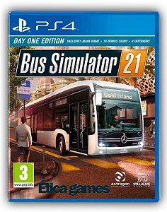 Bus Simulator 21 PS4 Mídia Digital
