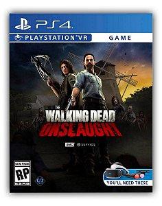 The Walking Dead Onslaught VR PS4 Mídia Digital