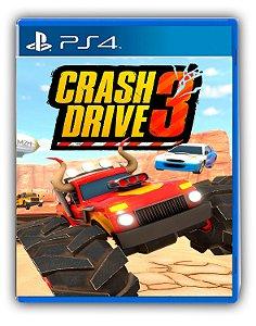Crash Drive 3 Ps4 Mídia Digital