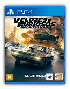 VELOZES E FURIOSOS ENCRUZILHADA PS4 Mídia Digital