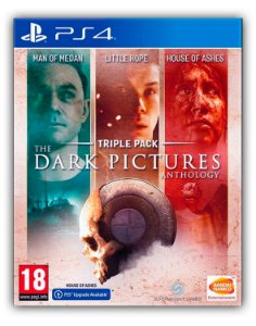 The Dark Pictures Anthology - Pacote Triplo PS4 Mídia Digital