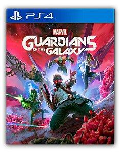 Guardiões da Galáxia da Marvel PS4 Mídia Digital
