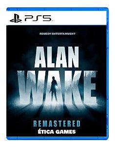 Alan Wake Remastered PS5 Mídia Digital
