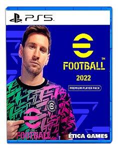 PES 22 eFootball 2022 Premium Player Pack PS5 Mídia Digital