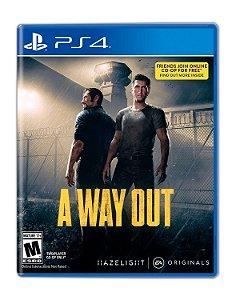 A Way Out PS4 Mídia Digital