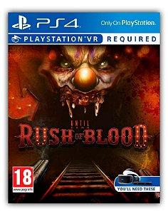 Until Dawn: Rush of Blood PS4 Mídia Digital