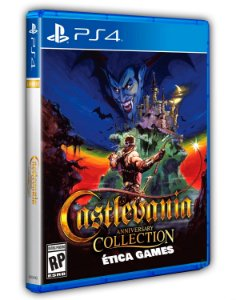 Castlevania Advance Collection PS4 Mídia Digital