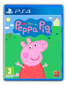 Minha Amiga Peppa Pig PS4 Mídia Digital