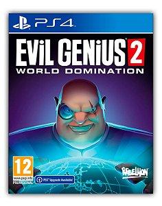 Evil Genius 2: World Domination PS4 Mídia Digital