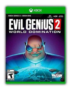 Evil Genius 2: Dominação mundial Xbox One Mídia Digital