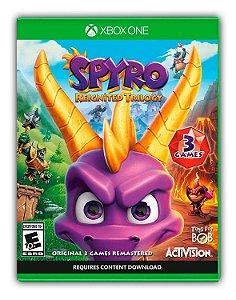 Spyro Reignited Trilogy Xbox One Mídia Digital