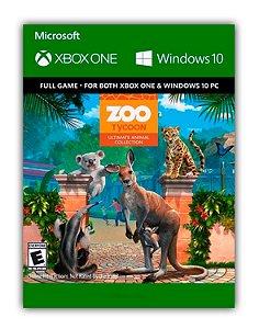 Zoo Tycoon: Ultimate Animal Collection Xbox One Mídia Digital