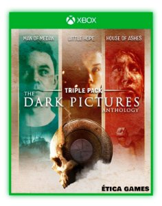 The Dark Pictures Anthology Pacote Triplo Xbox One Mídia Digital