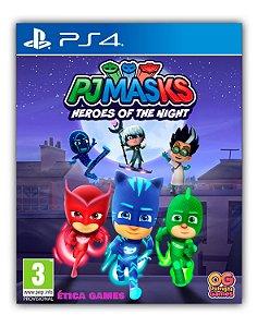PJ Masks - Os heróis da noite PS4 Mídia Digital