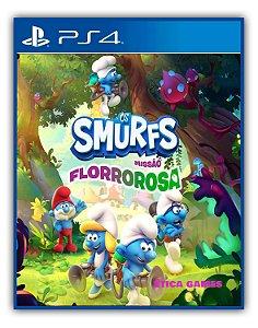 Os Smurfs – Missão Florrorosa PS4 Mídia Digital
