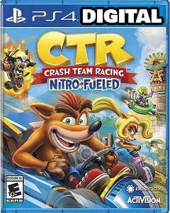 Crash Team Racing Nitro Fueled - PS4 - Midia Digital