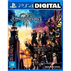 Kingdom Hearts 3 - Ps4 - Midia Digital