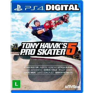Tony Hawk´s Pro Skater 5 - Ps4 - Midia Digital