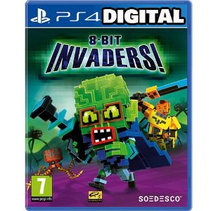 8-Bit invaders! - Ps4 - Midia Digital