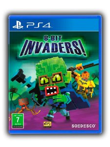 8 Bit invaders - Ps4 - Midia Digital