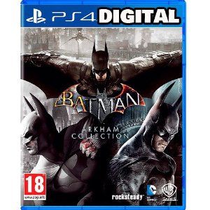 Batman: Arkham Collection - Ps4 - Midia Digital