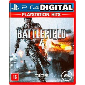 Battlefield 4 - PS4 - Midia Digital