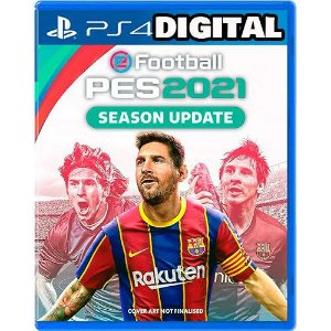 Efootball Pes 21- 2021 - PS4 - Midia Digital