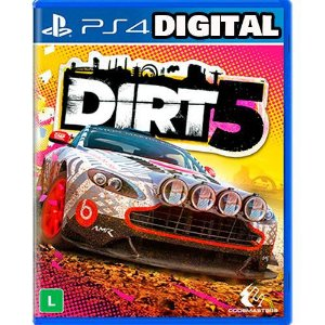 Dirt 5 - Ps4 - PRÉ-VENDA - Midia Digital