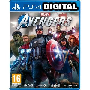 Marvel's Avengers - PS4 - Vingadores - Mídia Digital