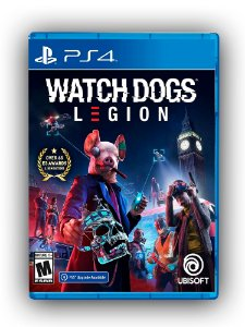 Watch Dogs Legion - PS4 - Mídia Digital