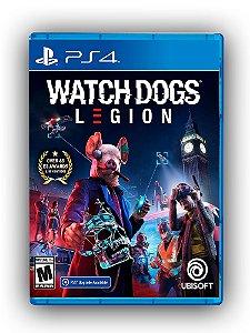 Watch Dogs Legion - PS4 - Mídia Digital
