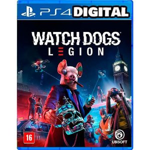 Watch Dogs: Legion - PS4 - PRÉ-VENDA - Mídia Digital