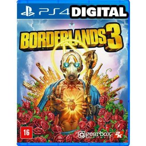 Borderlands 3 - Ps4 - Midia Digital