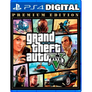 Grand Theft Auto V - Gta 5 - PS4 - Mídia Digital