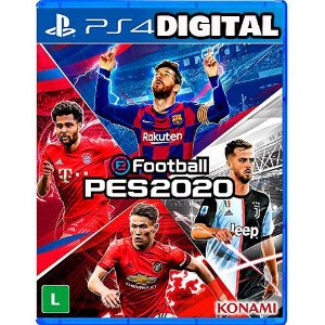 Pés 20 - Ps4 - Mídia Digital