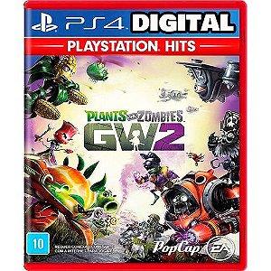 Plants Vs Zombies: Garden Warfare 2 - PS4 - Mídia Digital