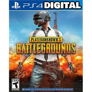 Playerunknown's Battlegrounds - Pubg - PS4 - Mídia digital Digital
