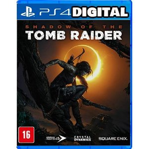 Shadow Of The Tomb Raider - PS4 - Mídia Digital