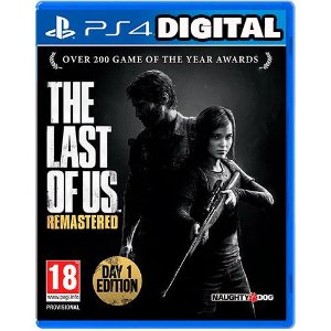 The Last Of Us Remastered - Ps4 - Midia Digital