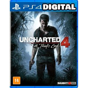 Uncharted 4: A Thief's End - Ps4 - Midia Digital