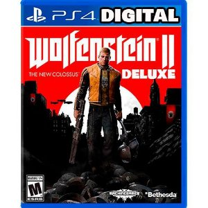 Wolfenstein 2 The New Colossus Digital Deluxe Edition - Ps4 - Midia Digital