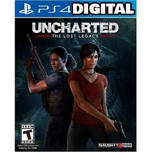 Uncharted The Lost Legacy - Ps4 - Mídia Digital