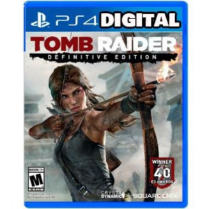 Tomb Raider Definitive Edition - Ps4 - Midia Digital