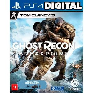 Tom Clancy's Ghost Recon Breakpoint - Ps4 - Midia Digital