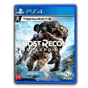 Tom Clancys Ghost Recon Breakpoint - Ps4 - Mídia Digital